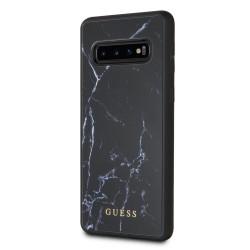 GUHCS10PHYMAB Guess Marble Kryt pro Samsung Galaxy S10 Plus Black