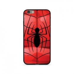 Spiderman 017 Premium Glass Zadní Kryt pro iPhone X Red