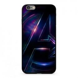 MARVEL Avengers 012 Premium Glass Zadní Kryt pro iPhone XR Multicolored