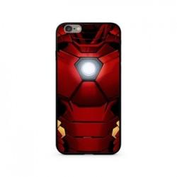 MARVEL Iron Man 024 Premium Glass Zadní Kryt pro iPhone XS Red