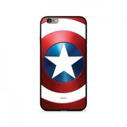 MARVEL Captain America 026 Premium Glass Zadní Kryt pro iPhone XS Multicolored