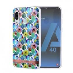 SoSeven Coque Mexico Silikonový Kryt pro Samsung Galaxy A40 Cactus Blue (EU Blister)