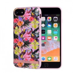 SoSeven Coque Phuket Silikonový Kryt pro iPhone 6/7/8 Tropical Rose (EU Blister)