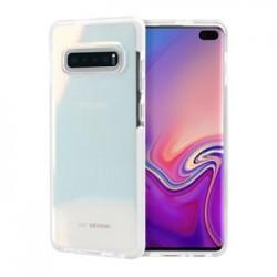 SoSeven Pure Silikonový Kryt pro Samsung Galaxy S10+ White (EU Blister)