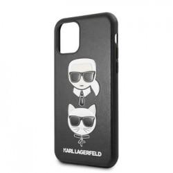 KLHCN58KICKC Karl Lagerfeld &Choupette Kryt pro iPhone 11 Black (EU Blister)