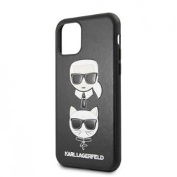 KLHCN65KICKC Karl Lagerfeld &Choupette Kryt pro iPhone 11 Pro Black (EU Blister)