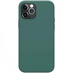 Nillkin Flex Pure Liquid Silikonový Kryt pro iPhone 12/12 Pro Green