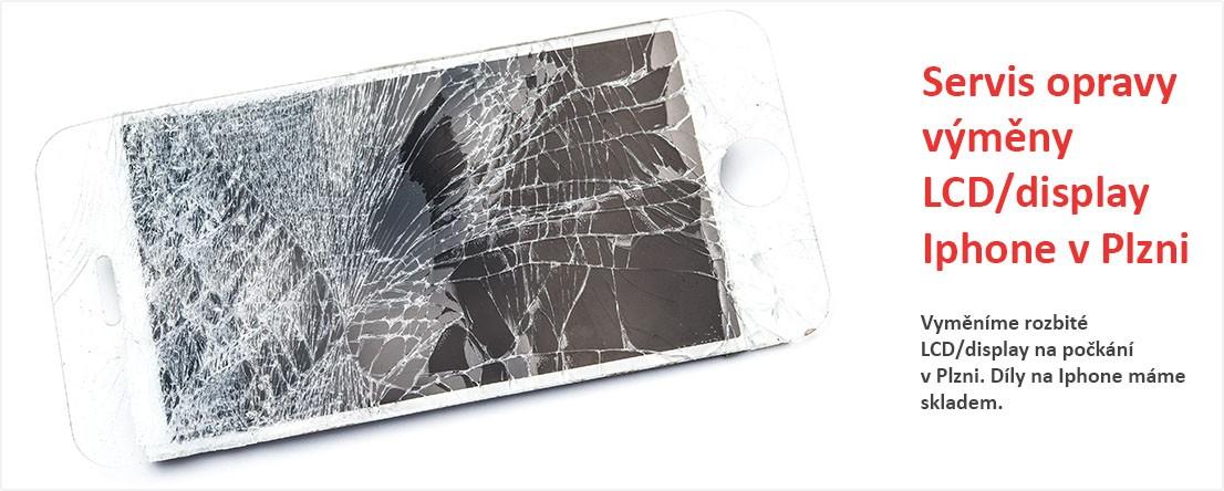 Opravy Iphone v Plzni -  Servis opravy výměny LCD/display Iphone v Plzni - Vyměníme rozbité LCD/display na počkání v Plzni. Díly na Iphone máme skladem.