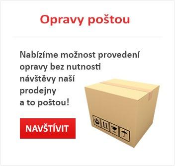 Nabízíme možnost provedení opravy bez nutnosti návštěvy naši prodejny a to poštou!